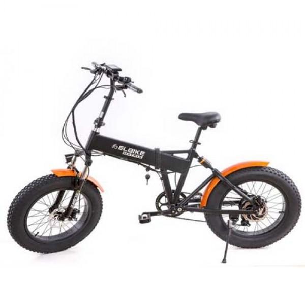 Электровелосипед Elbike MATRIX (двухподвес) фото