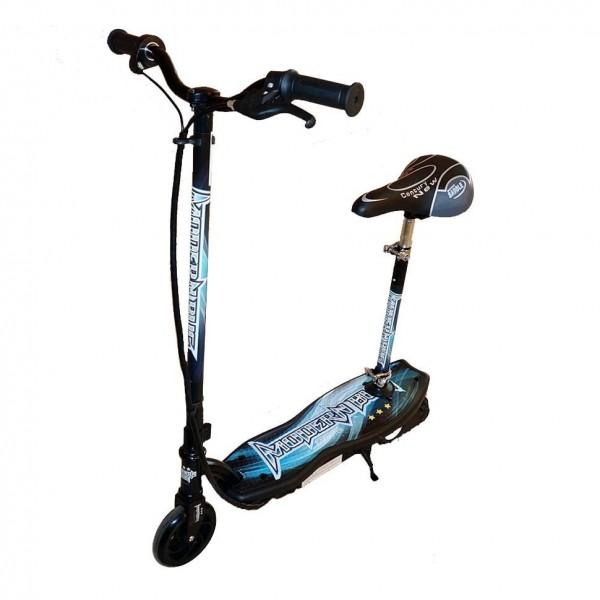Электросамокат El-sport e-scooter CD10A-S 120W (с сиденьем) фото