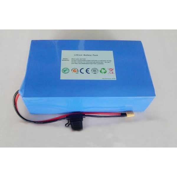 Литий-ионный аккумулятор (Li-Ion 48V 12Ah) фото